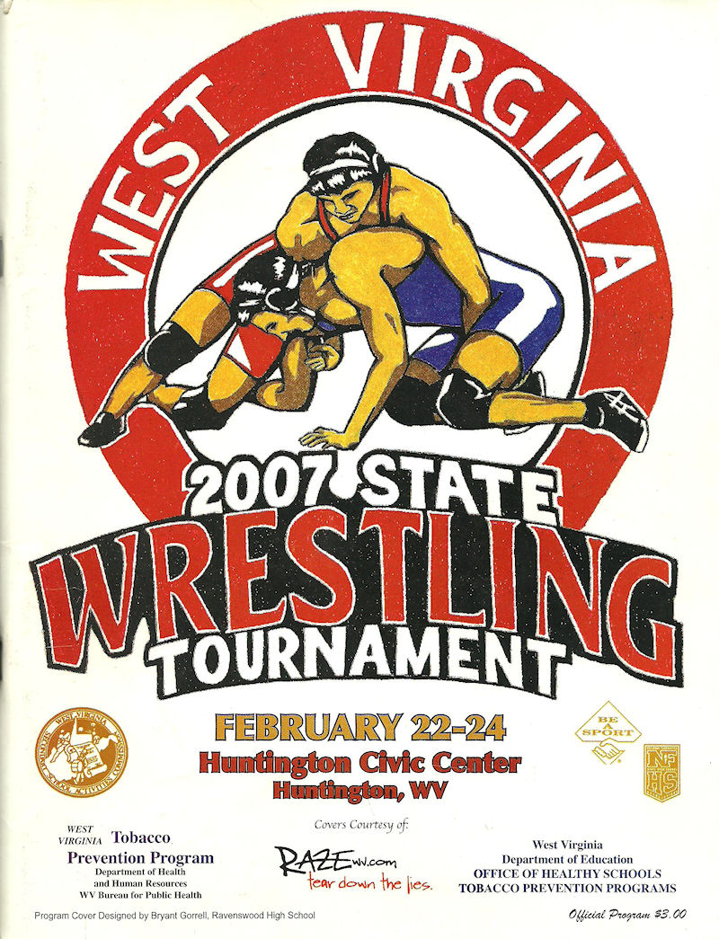 2007 State Tournament Program Cover