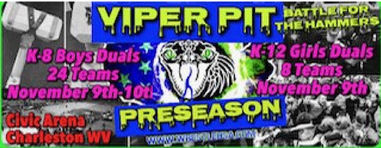 WV-Mat, Youth and Open Wrestling Tournaments